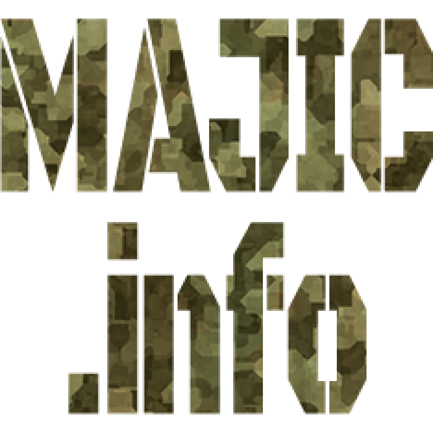 MAJIC.info logo (Military-Alien Joint Industrial Complex information)